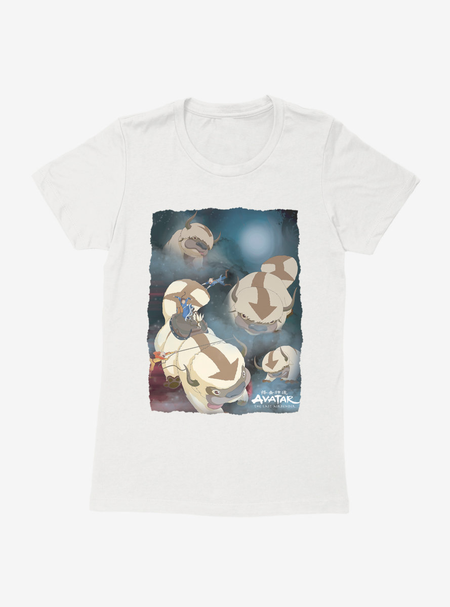 Avatar: The Last Airbender Appa Yip Yip Womens T-Shirt