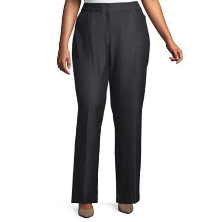 Worthington Womens Perfect Fit Trouser - Plus, 16w , Blue