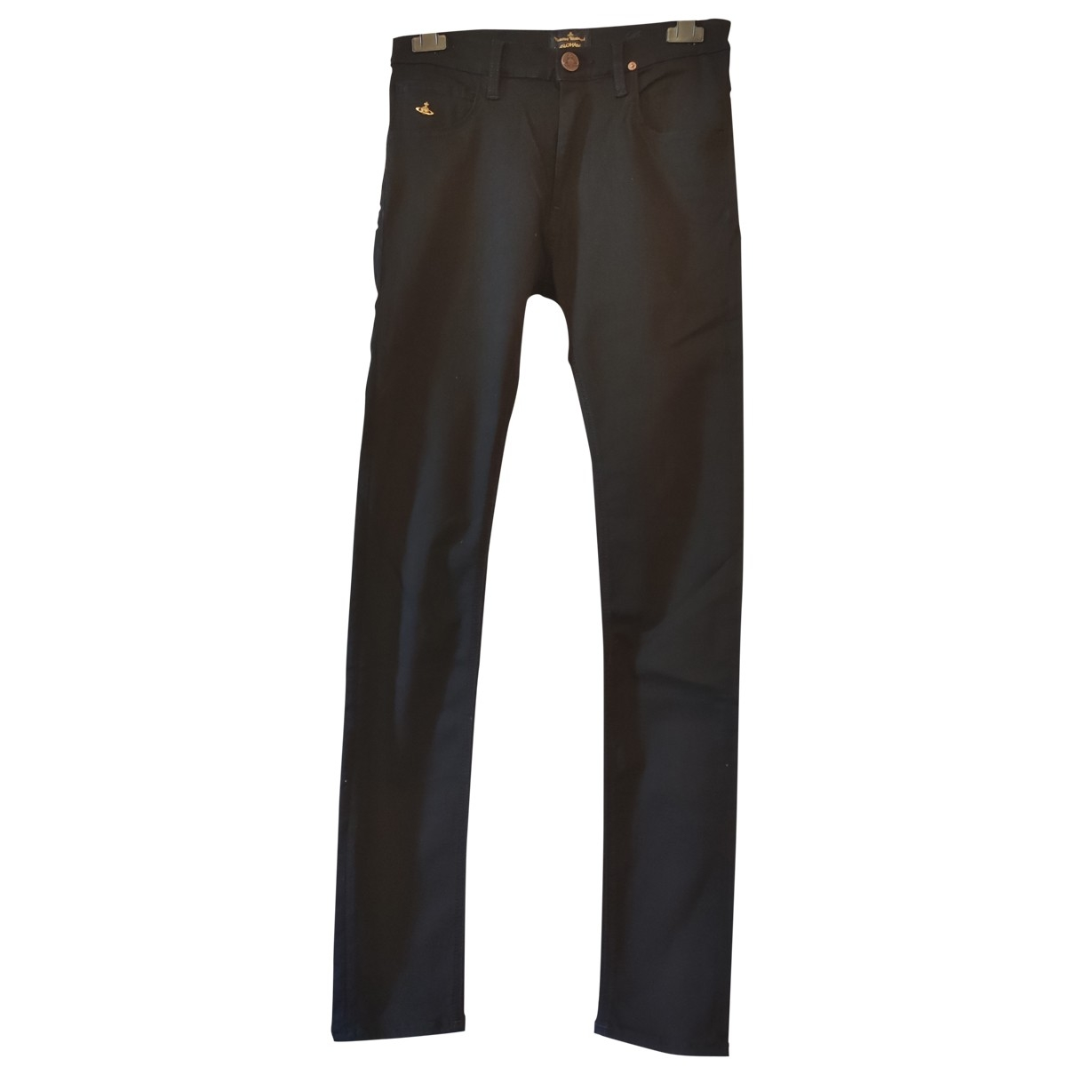 Vivienne Westwood Anglomania \N Black Cotton Jeans for Women 26 US