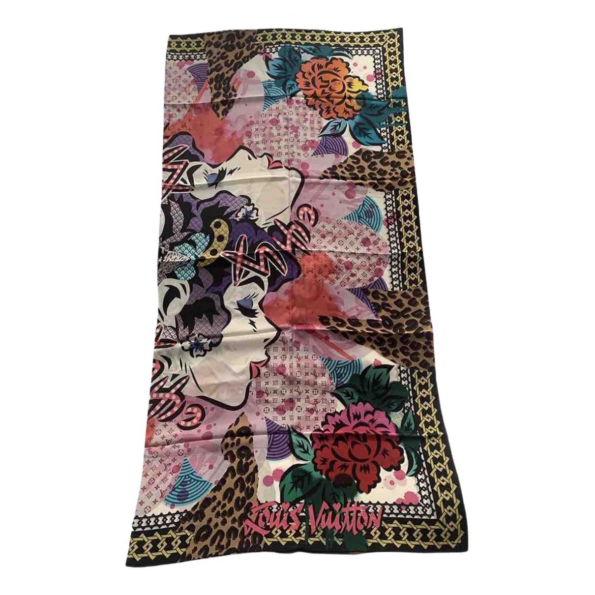 Louis Vuitton \N Multicolour Silk Silk handkerchief for Women \N