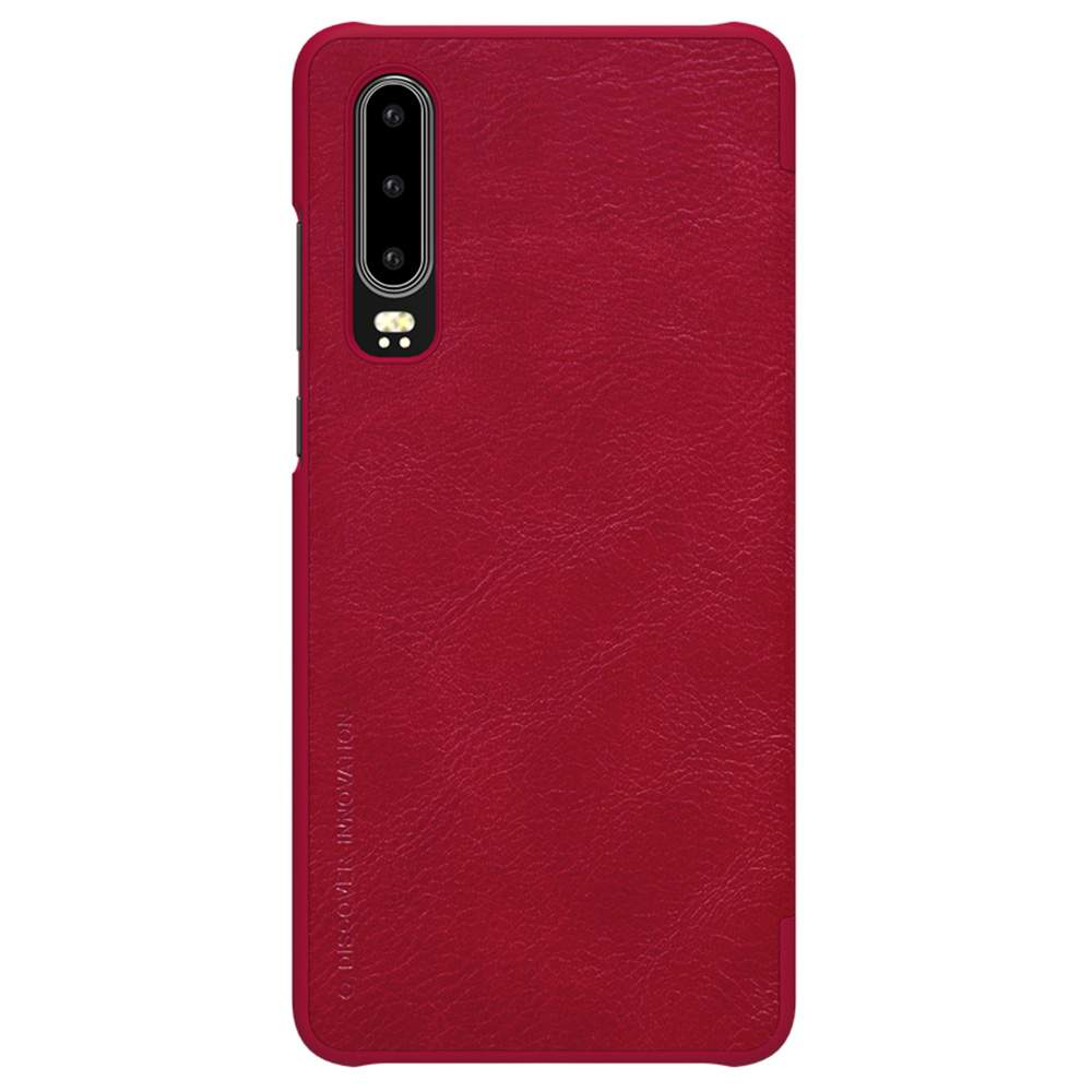 NILLKIN Protective Leather Phone Case For HUAWEI P30 Smartphone - Red