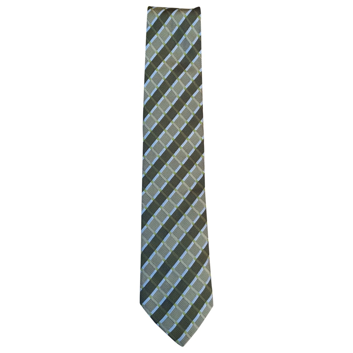 Zara \N Green Silk Ties for Men \N