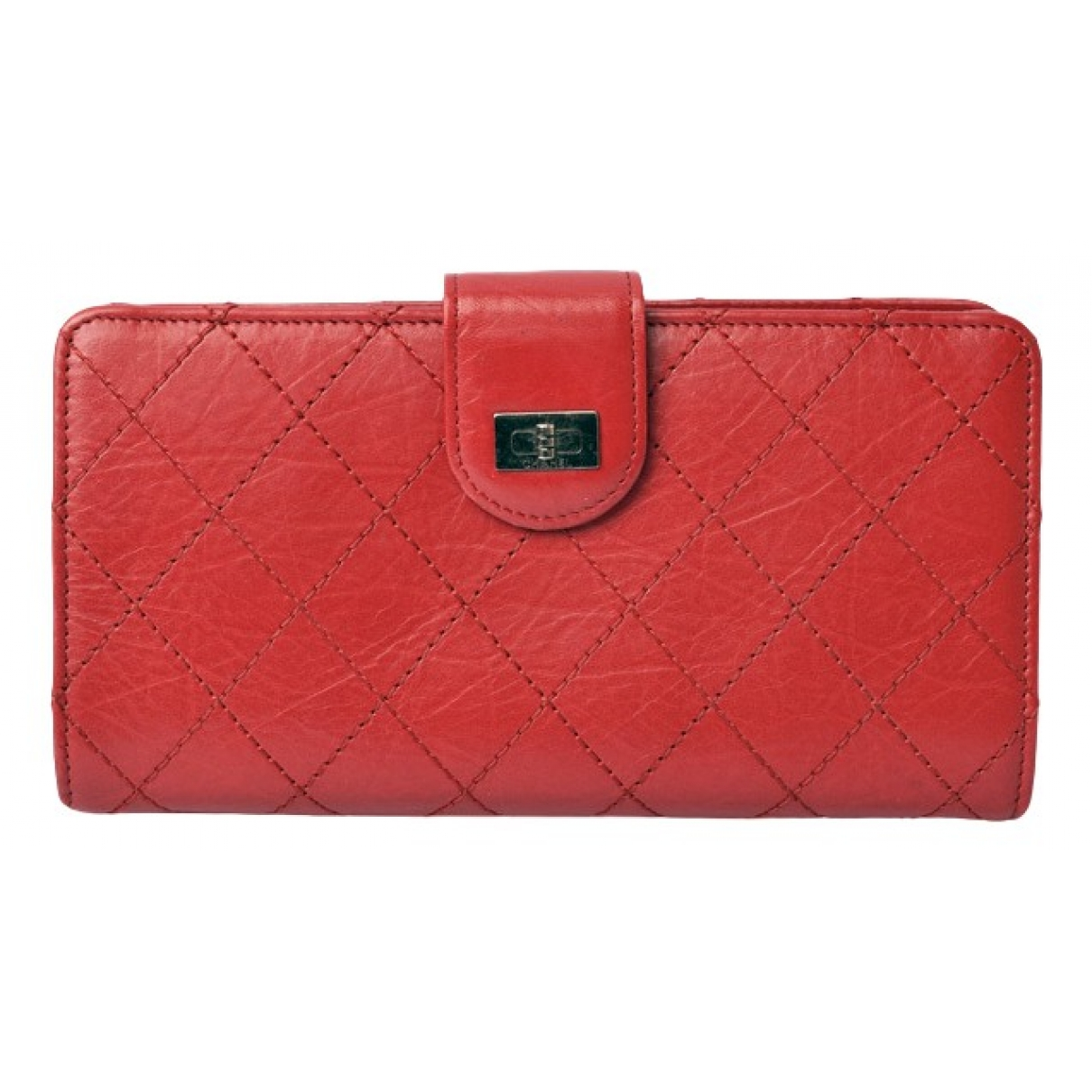 Chanel Boy Red Leather wallet for Women \N