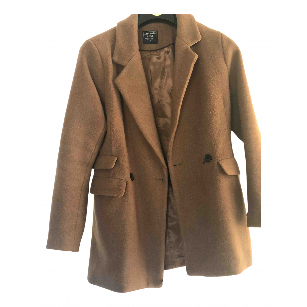 Abercrombie & Fitch \N Camel coat for Women S International