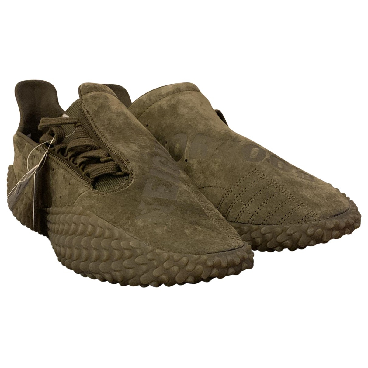 Adidas \N Green Suede Trainers for Men 11.5 UK