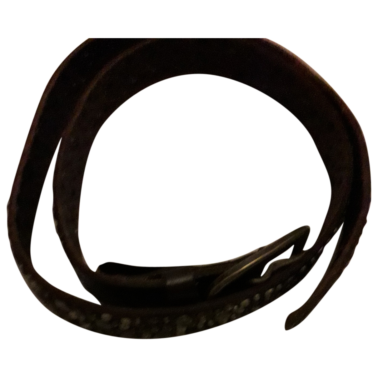 Dsquared2 \N Brown Leather belt for Men 80 cm
