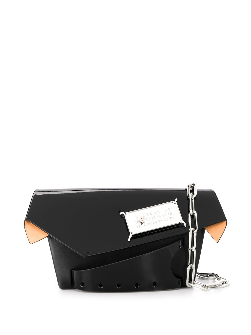 Snatched Leather Clutch