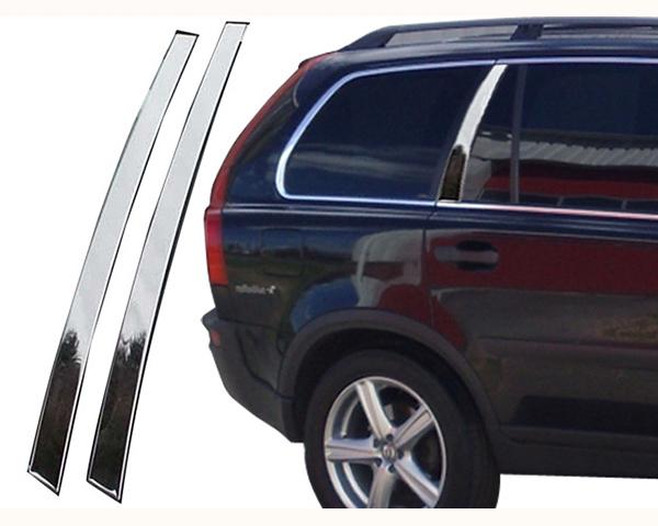 Quality Automotive Accessories 2-Piece Rear Door Accent Pillar Volvo XC90 2007