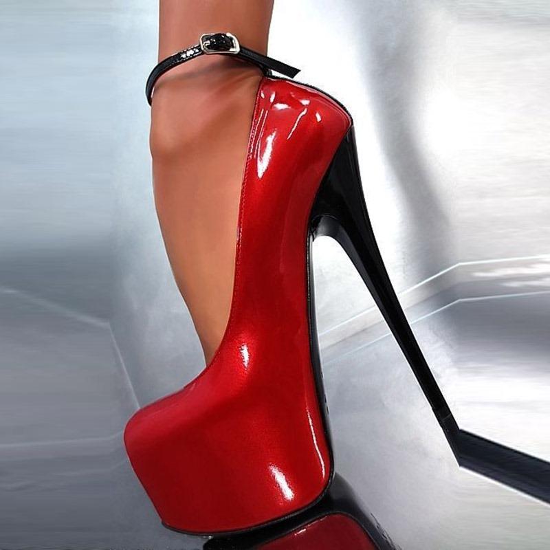 Ericdress SexyPlain Platform Stiletto Heel Pumps