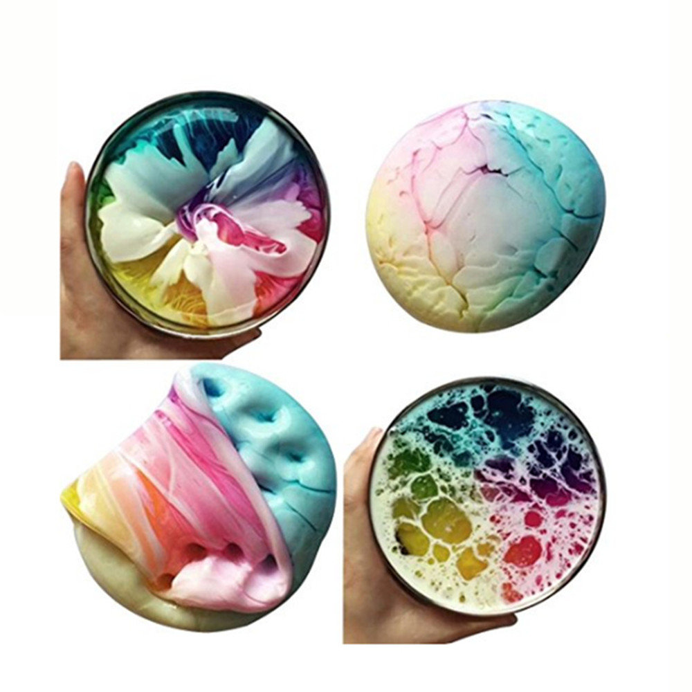 Multicolor Mixed Slime DIY Gift Toy Stress Reliever