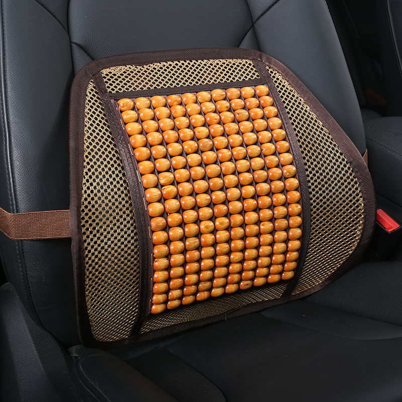 Permeability Rubbing Solid health Luxurious Ice Silk And Rayon Car Pillow