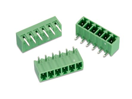 Wurth Elektronik , WR-TBL, 322, 9 Way, 1 Row, Horizontal PCB Header (360)