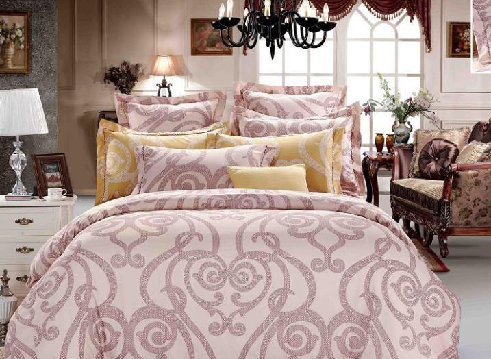 Luxury Courtyard Floral Pattern 4-Piece Bedding Sets/Duvet Cover