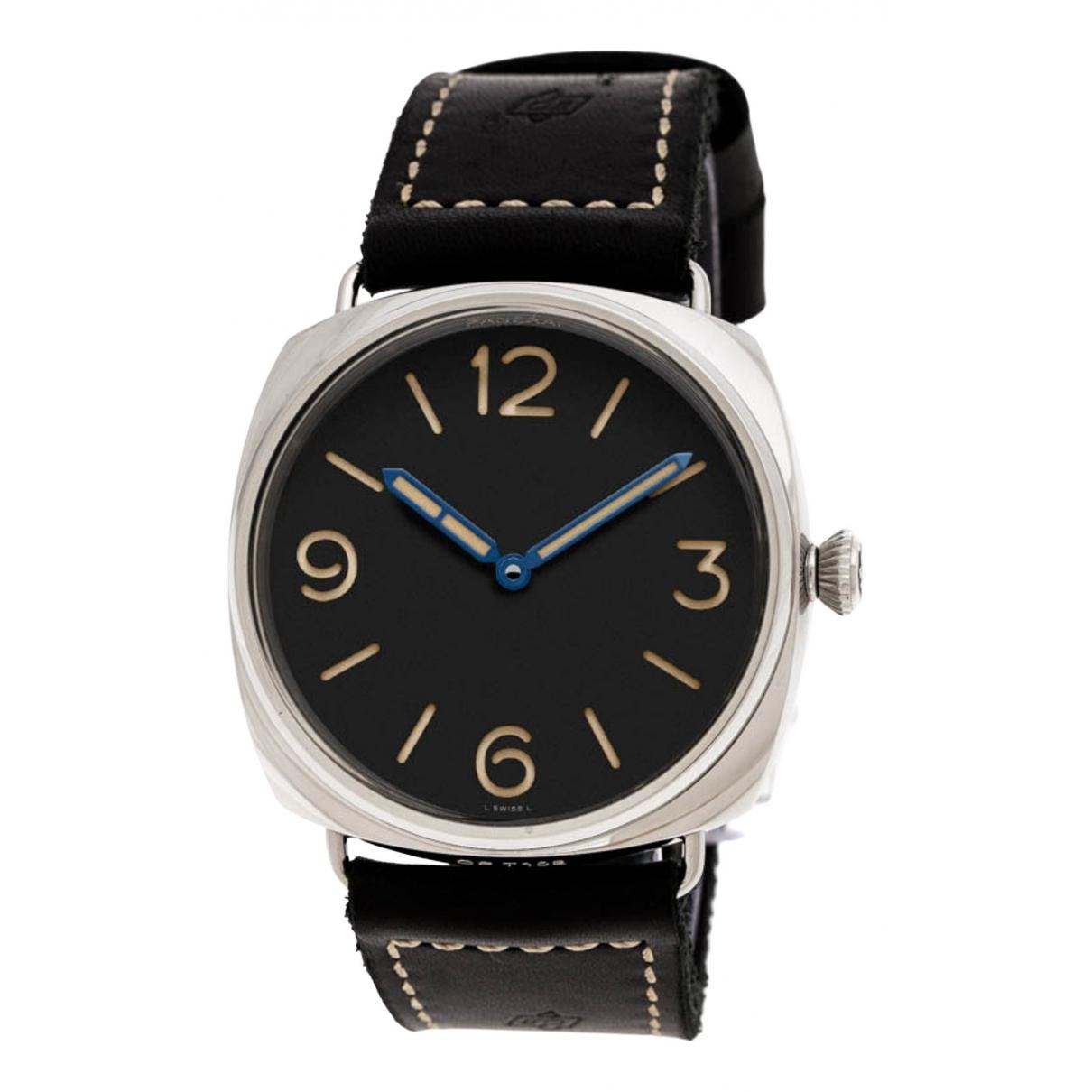 Panerai Radiomir Black Steel watch for Men \N