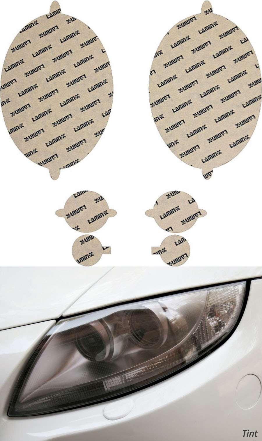Mini Cooper 01-06 w/o washersTint Headlight Covers Lamin-X MN004T