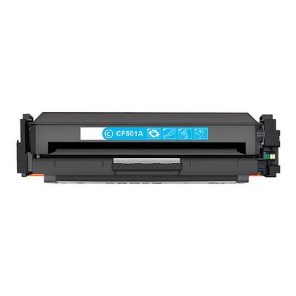 Compatible HP 202A CF501A cartouche de toner cyan - boîte économique