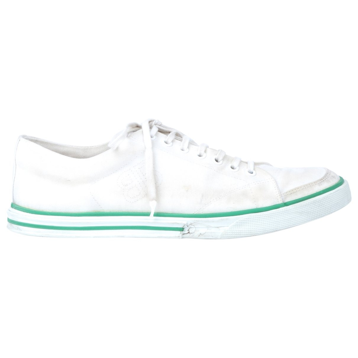 Balenciaga \N White Cloth Trainers for Men 43 EU