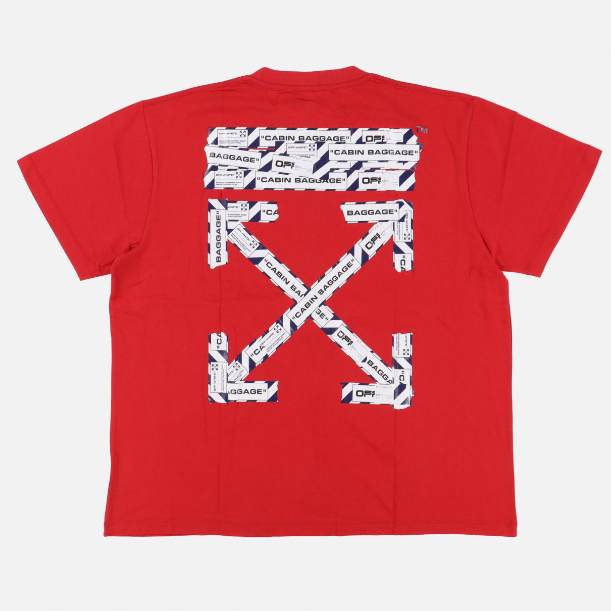 Off-white \N Red Cotton T-shirts for Men L International