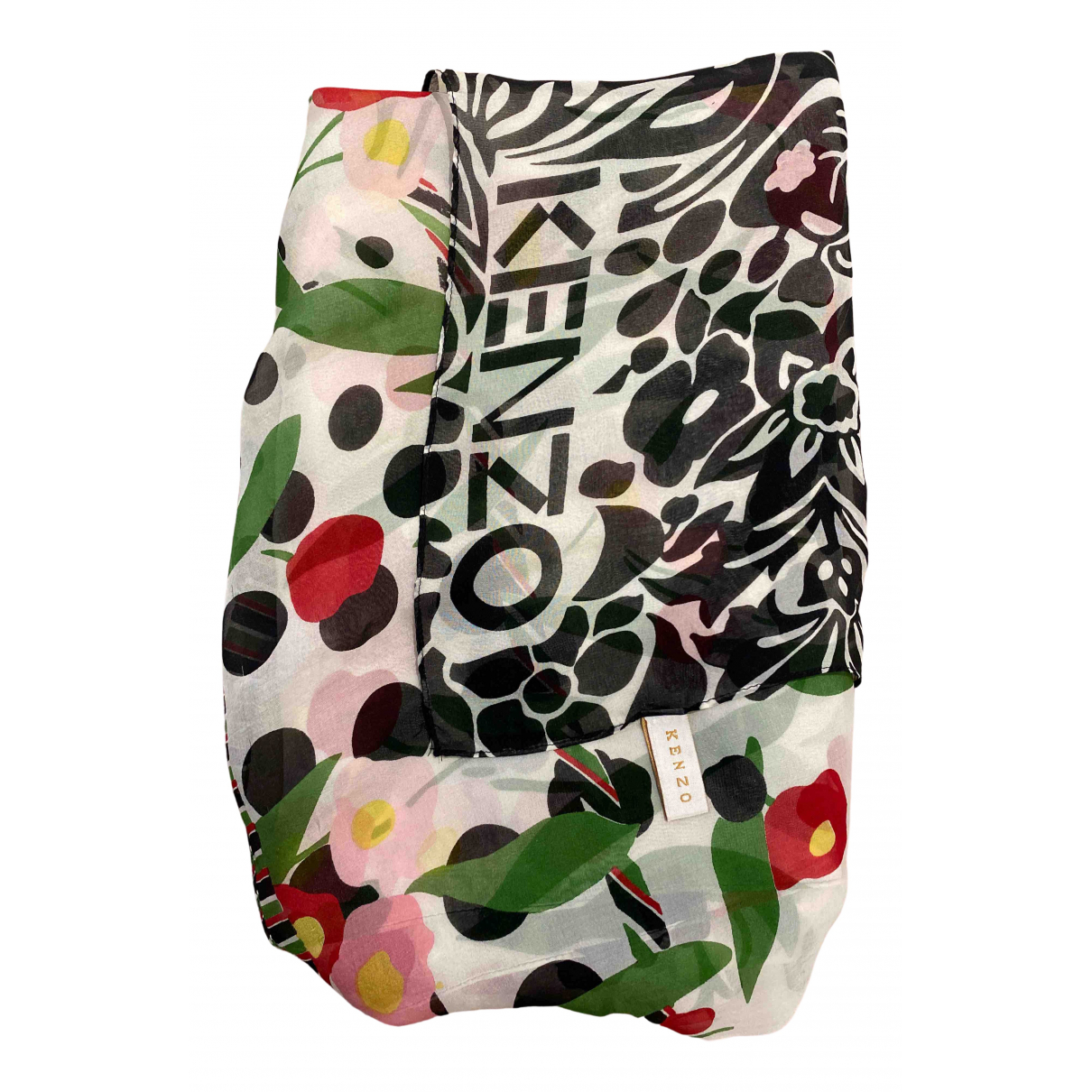 Kenzo \N Multicolour Silk scarf for Women \N