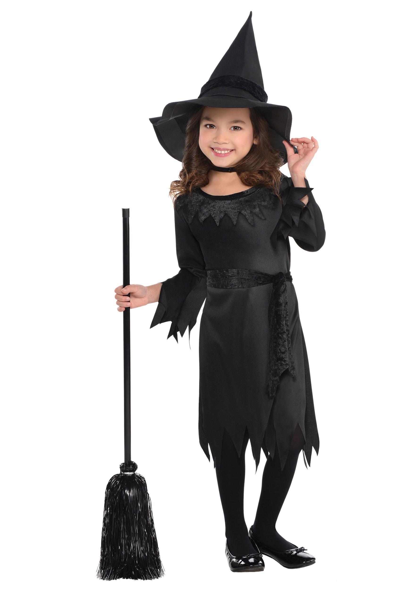 Li'l Witch Girl's Costume