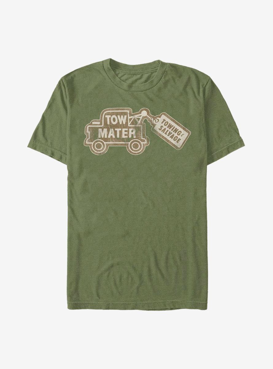 Disney Pixar Cars Tow Mater Card T-Shirt