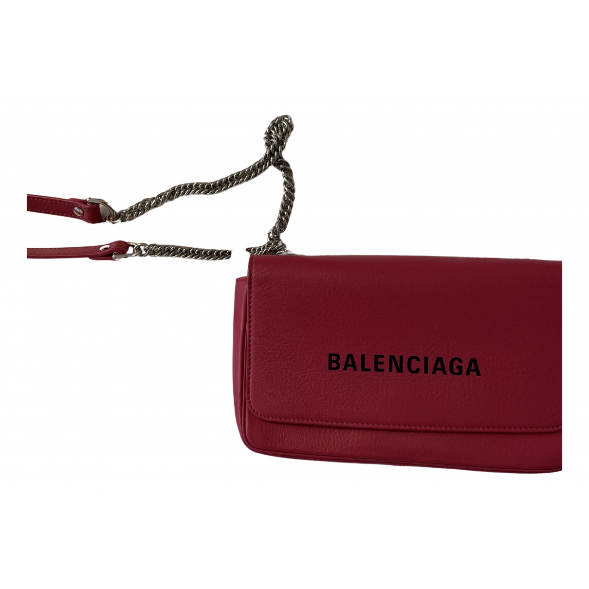 Balenciaga Everyday Pink Leather Clutch bag for Women \N