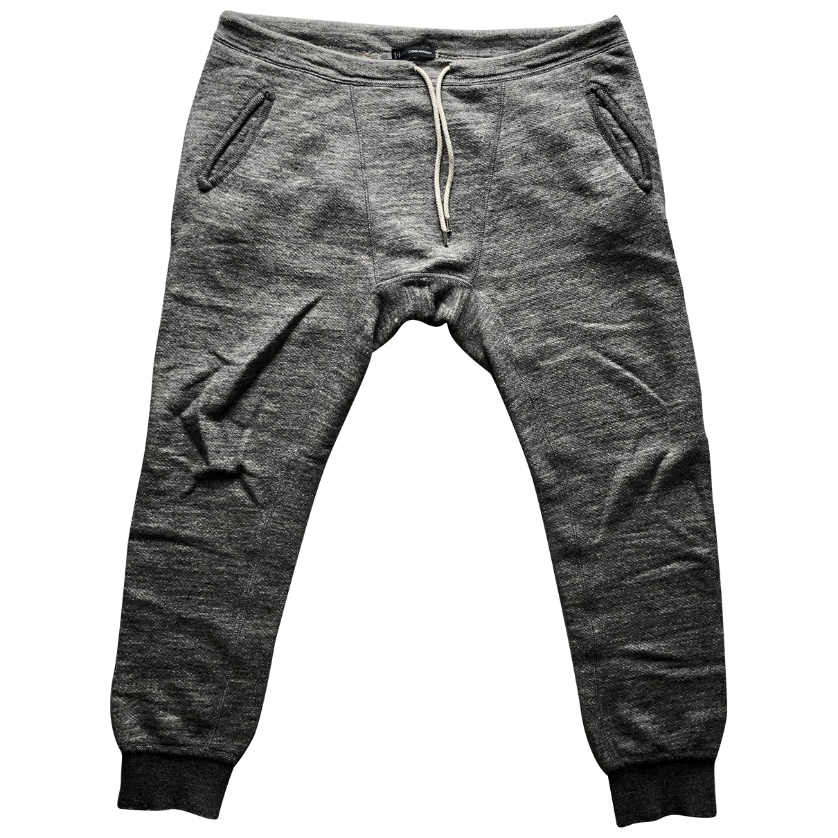 Dsquared2 \N Grey Wool Trousers for Men L International