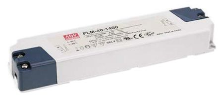 Mean Well Constant Current LED Driver 40W 40 → 80V