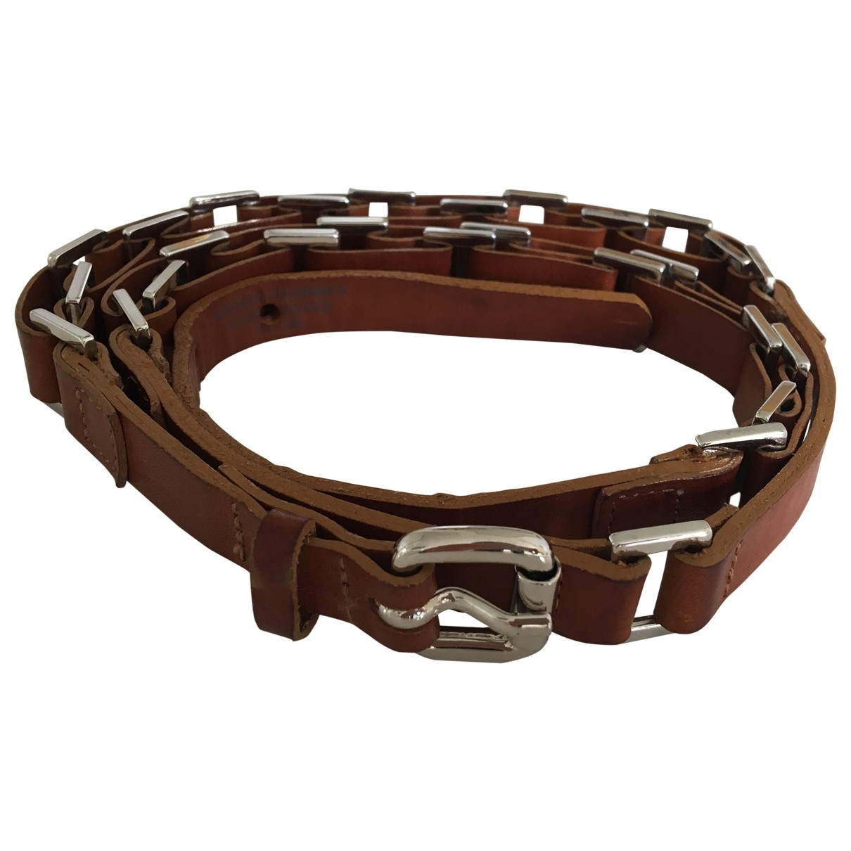 Innamorato \N Camel Leather belt for Women 75 cm