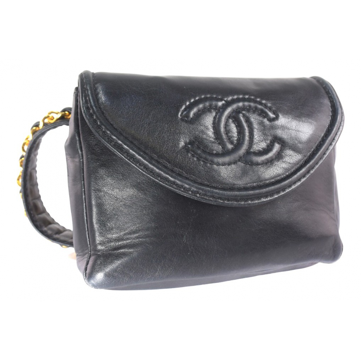 Chanel \N Black Leather Clutch bag for Women \N