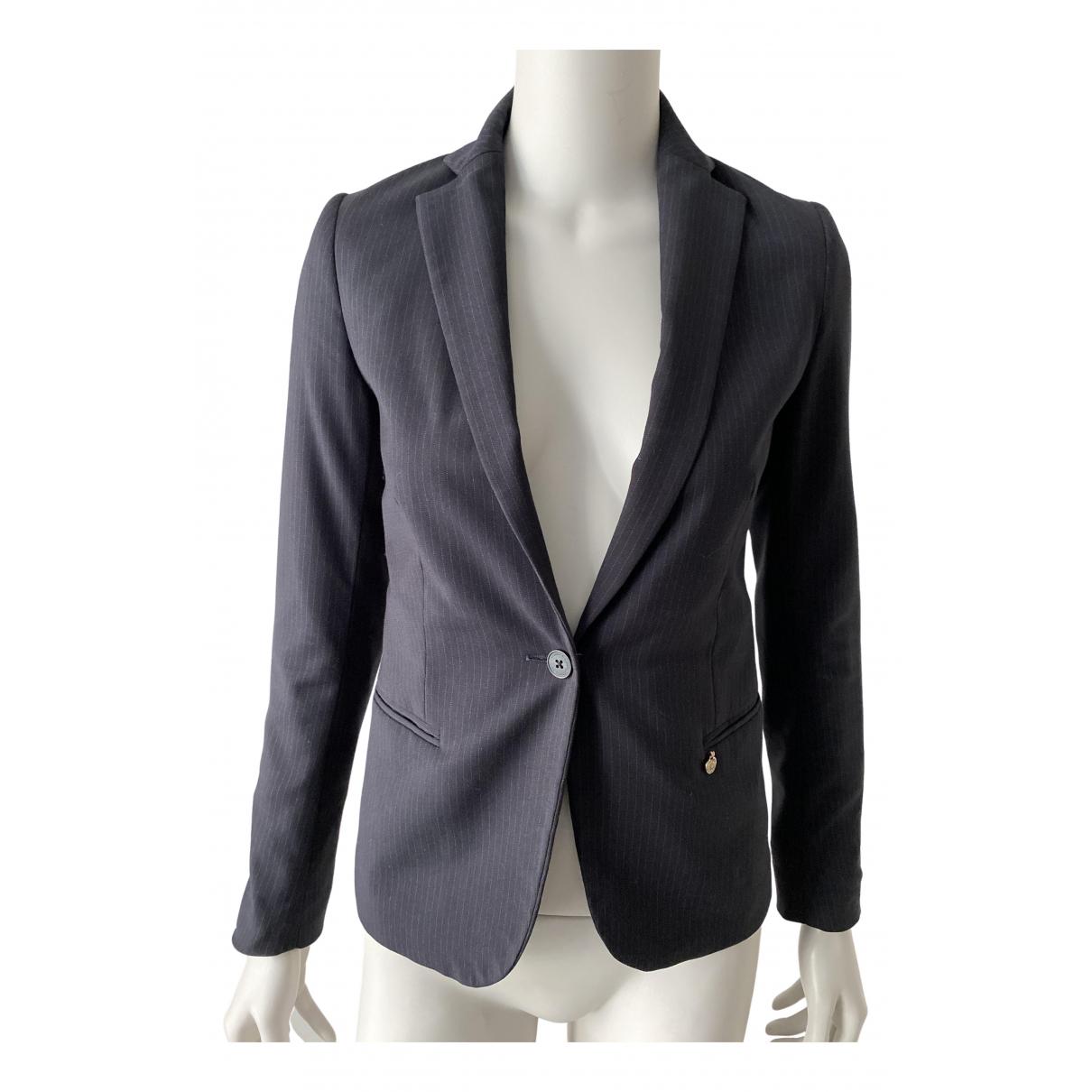 Maison Scotch \N Black Cotton jacket for Women 34 FR