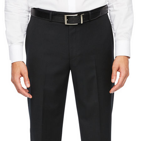 Collection By Michael Strahan Classic Fit Stretch Suit Pants, 30 32, Black