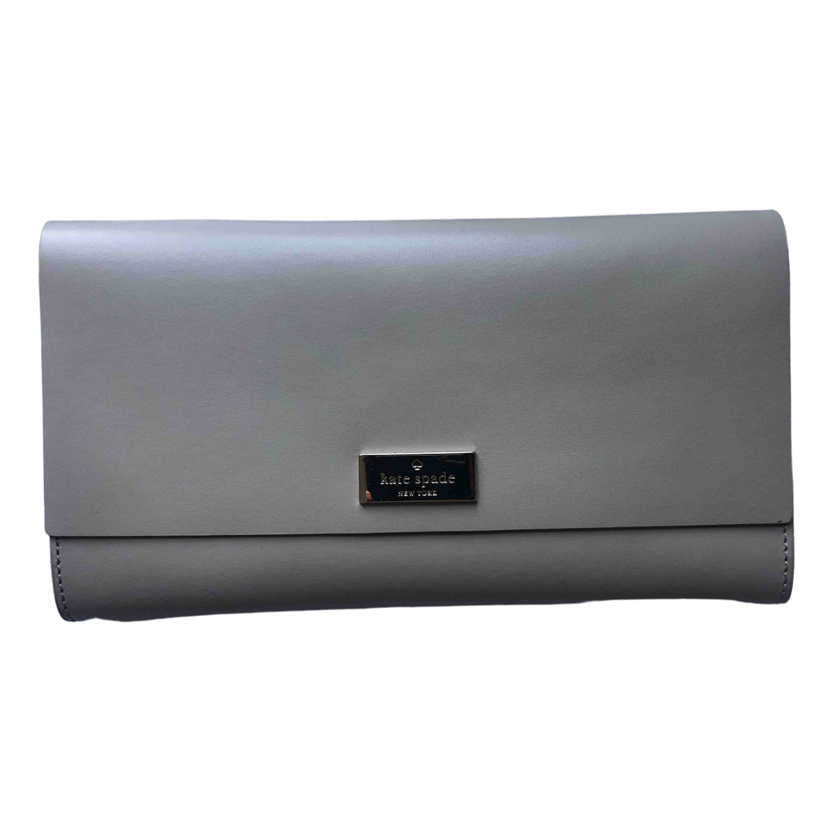 Kate Spade \N Beige Leather Clutch bag for Women \N