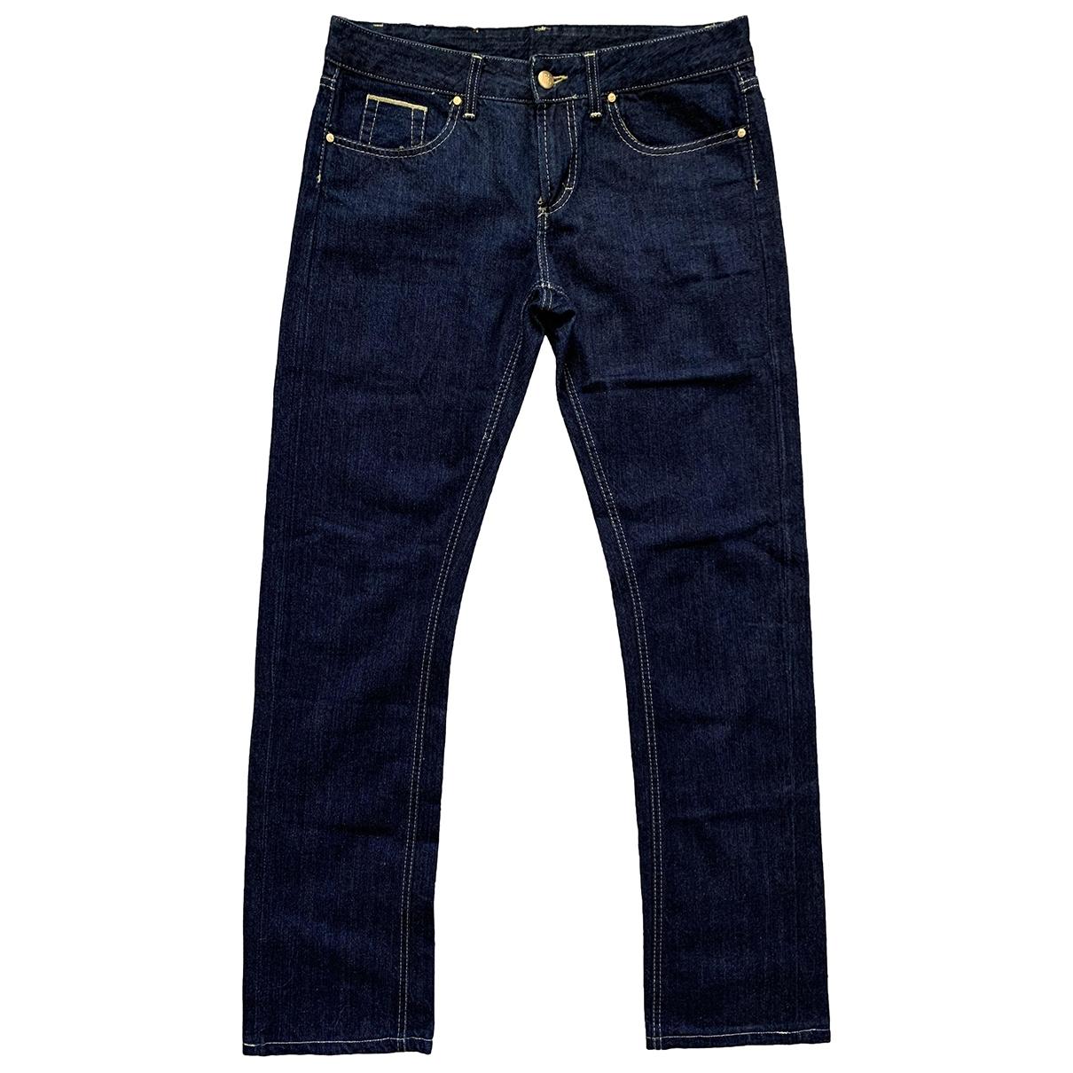 Gianfranco Ferré \N Blue Denim - Jeans Trousers for Women 32 FR