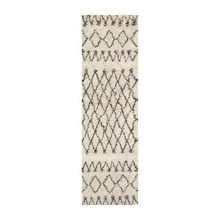 Safavieh Casablanca Collection Stephanie Geometric Runner Rug, One Size , Multiple Colors