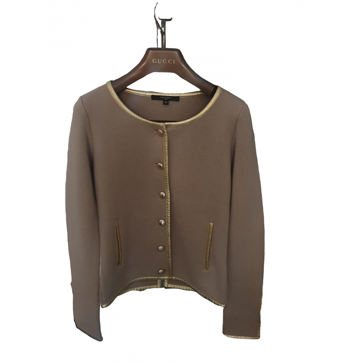 Non Signé / Unsigned \N Cotton jacket for Women S International