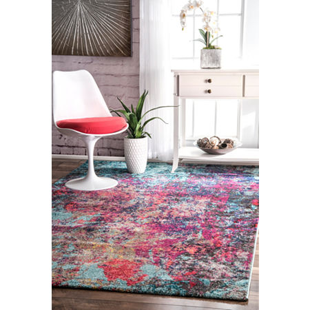 nuLoom Reva Abstract Rug, One Size , Multiple Colors