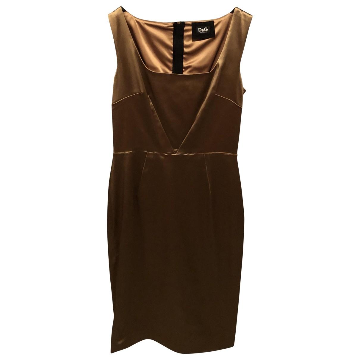 D&g \N Gold dress for Women 46 IT