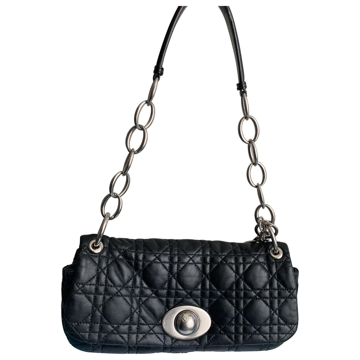 Dior \N Black Leather handbag for Women \N