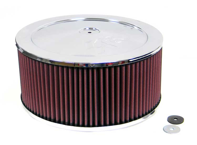 K&N 60-1250 Round Air Filter Assembly