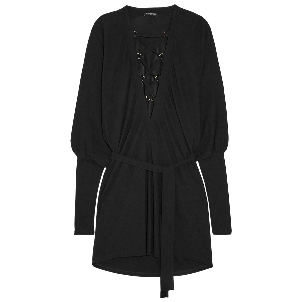 Balmain \N Black dress for Women 36 FR