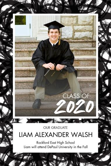 Graduation 12x18 Poster, Home Décor -Bold Celebration