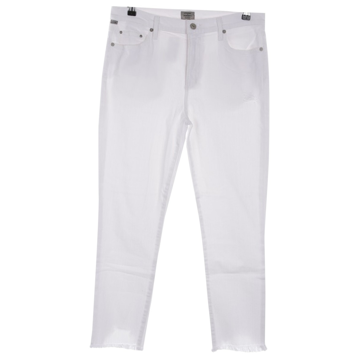 Citizens Of Humanity \N White Cotton Jeans for Women 32 FR