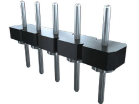 Samtec , BBL, 32 Way, 1 Row, Straight PCB Header (7)