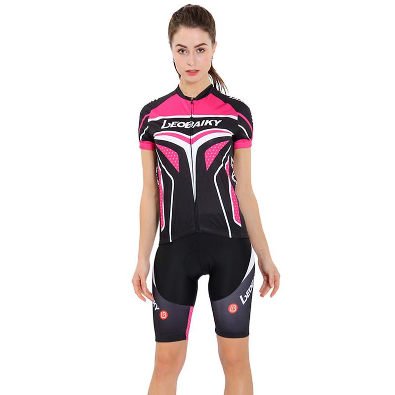 Short Sleeve Cycling Jersey Jacket Black Red Cycling Shirt