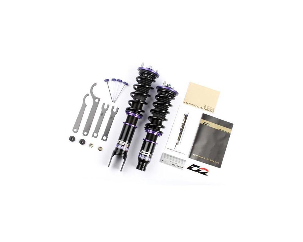 D2 Racing RS Series Coilover Kit Honda Accord 2008-2012