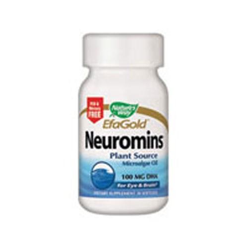 Neuromins Vegetarian DHA 30 Sftgls by Nature's Way