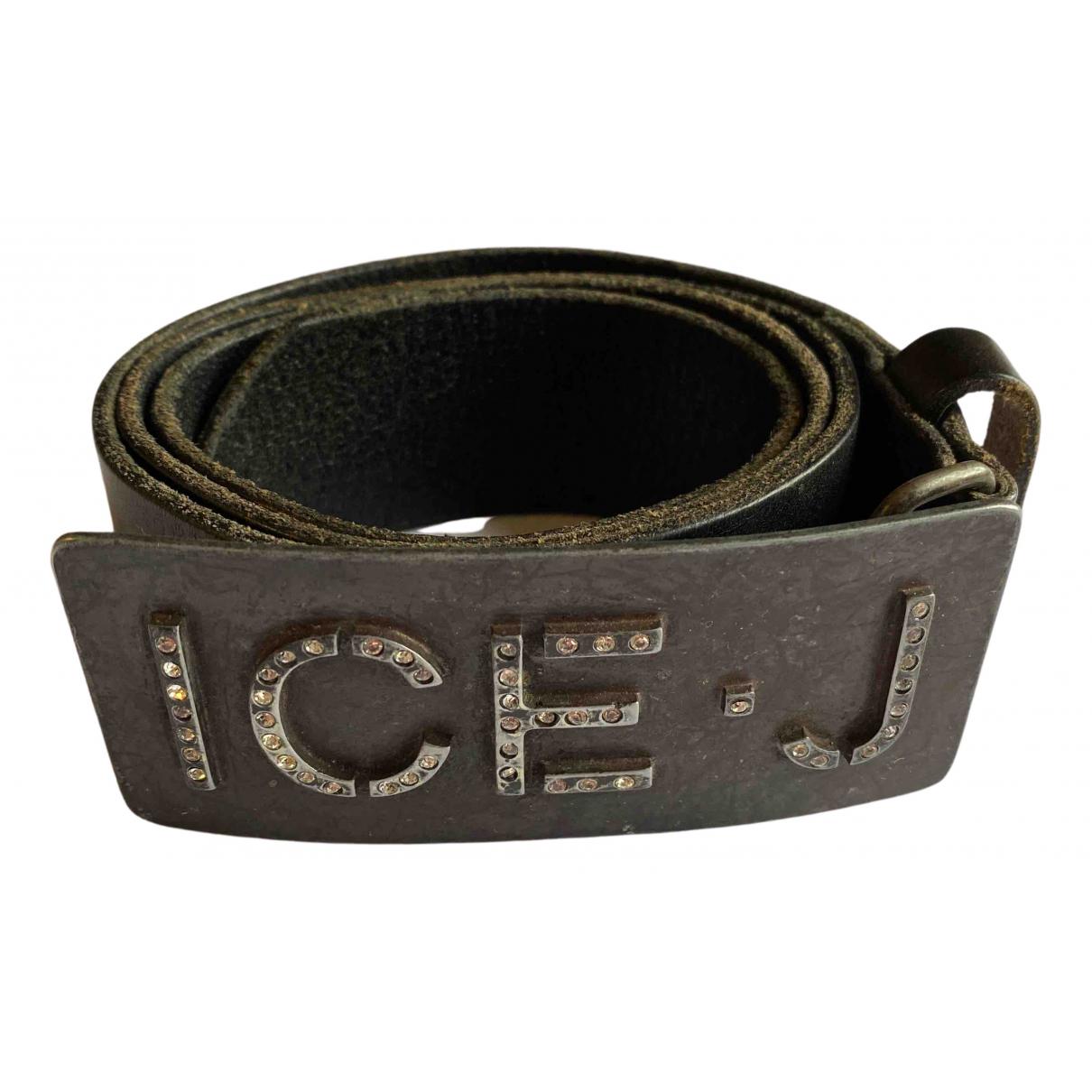 Iceberg \N Brown Leather belt for Women 90 cm