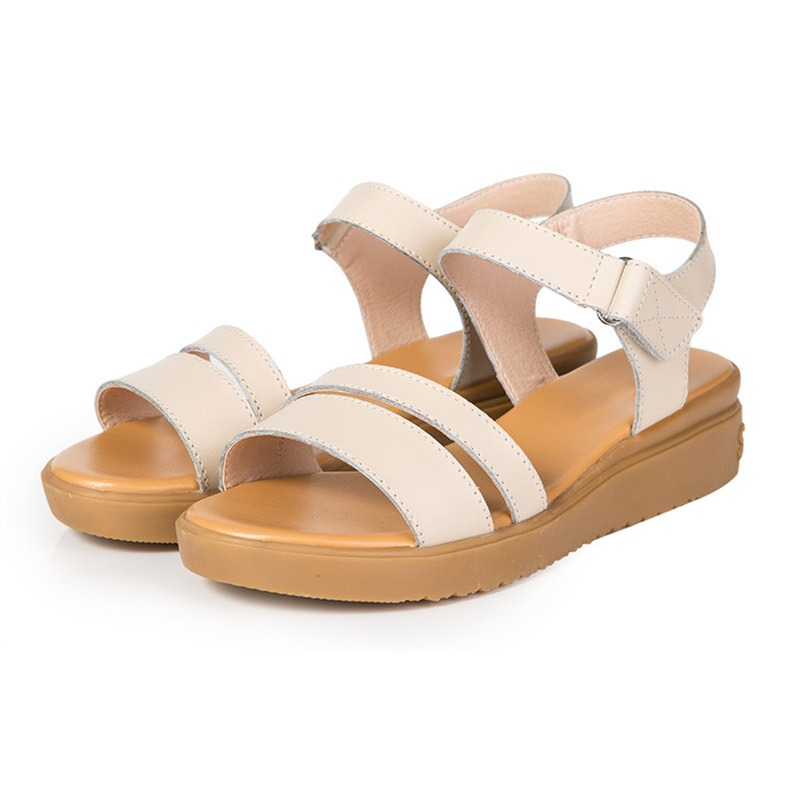 Ericdress Open Toe Strappy Flat With Casual Sandals