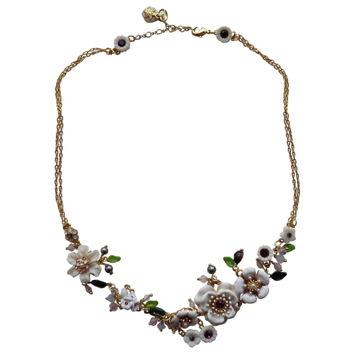 Les Néréides \N Multicolour Gold plated necklace for Women \N
